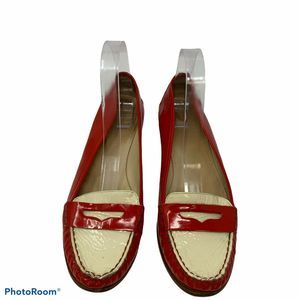 Kate Spade NY Phoenix Red Patent Leather Loafers
